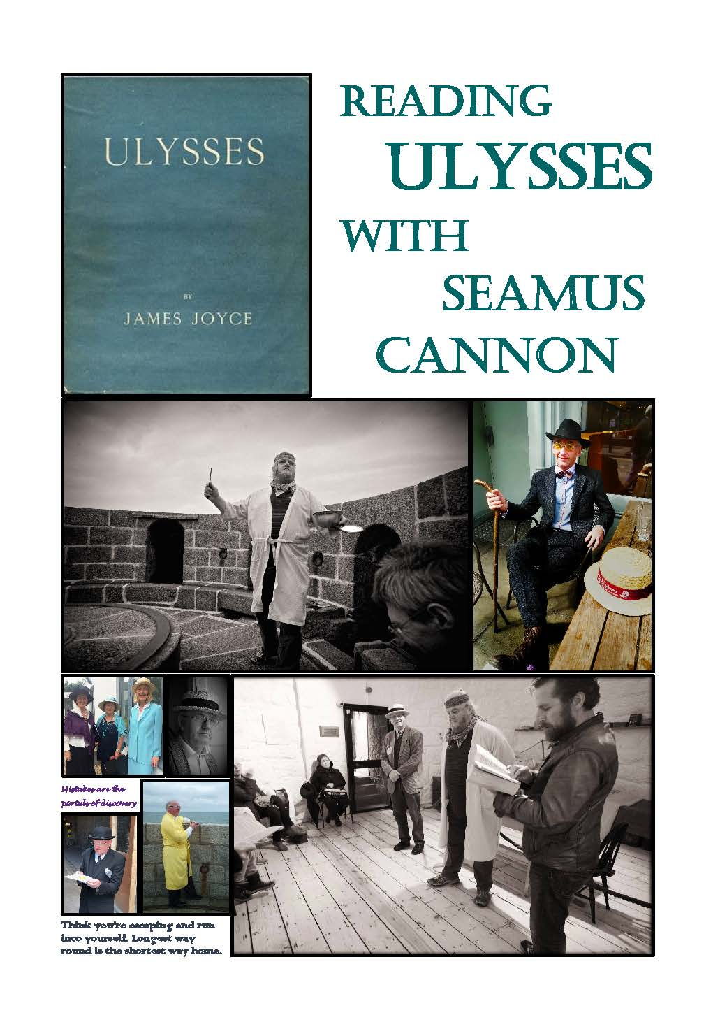 Reading Ulysses with Seamus Cannon poster