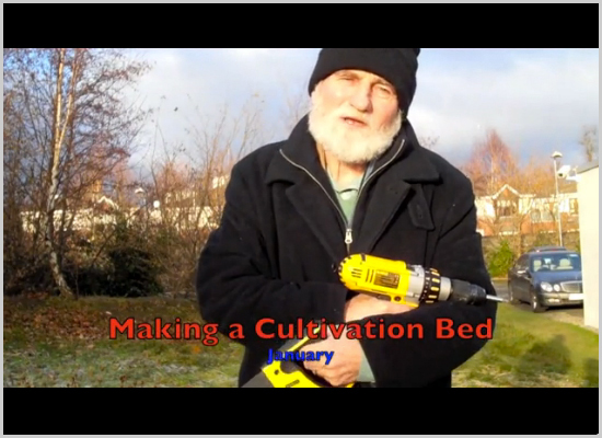 How to make a cultivation bed